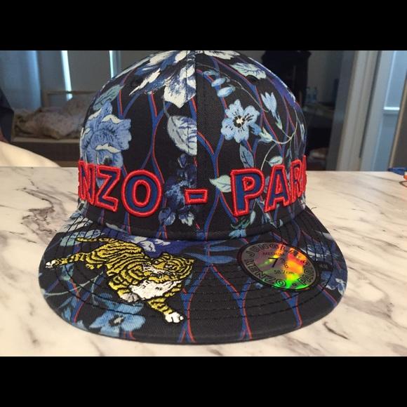 Kenzo x H m blue cap tiger size M 0aaf0f60cb7