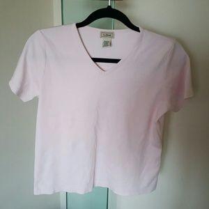 Pink L.L. Bean Top