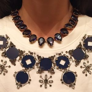 J. Crew Blue Stone Necklace