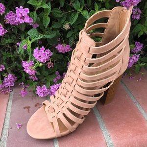 shoeroom21 boutique Shoes - SALELadies high top straps chunky heels sandal