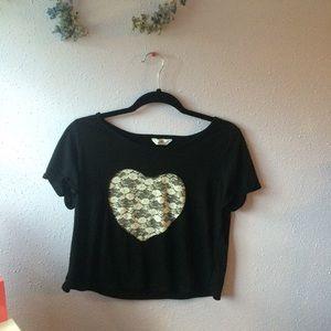Kirra cropped shirt