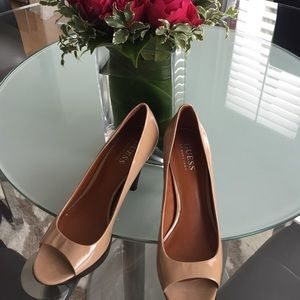 Cleaning guess beige heels