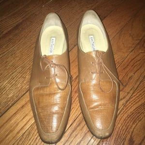 Ann Taylor Leather Loafers - Made in Italy