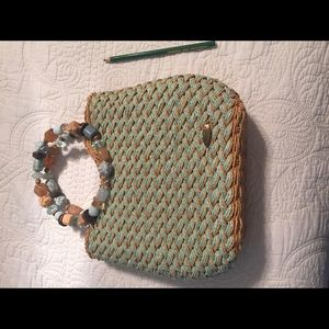 Cantarelli Handbags - Straw Purse perfect for spring
