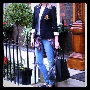 Lauren Ralph Lauren Jackets & Blazers - On Trend LAUREN Ralph Lauren Navy Blazer!