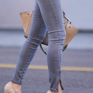 James Jeans Denim - ⚡️Ankle Zip Gray James Jeans