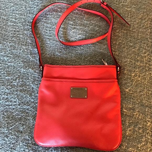 Ralph Lauren coral cross-body bag