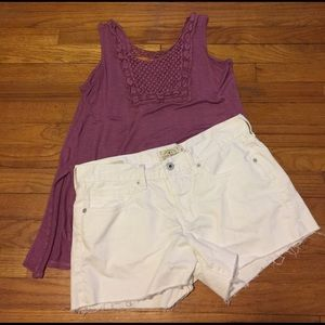 """Lucky Brand Pants - NWOT Lucky Brand 🍀""""the cut off"""" shorts"""