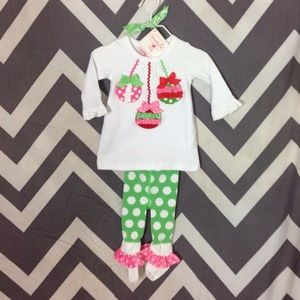 Mud Pie Other - Holiday Set NWT - 0-6 Months