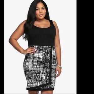 Host pick Torrid faux wrap Dress