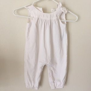GAP Other - Cream romper with bow