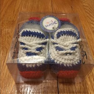Jefferies Socks Other - SALE final price Baby Boy Crochet Bootie Sneaker