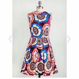 Modcloth Closet London A-line Dress, Size L