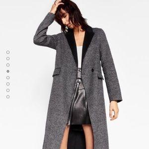 Zara Jackets & Blazers - 🆕 Zara Long wool coat