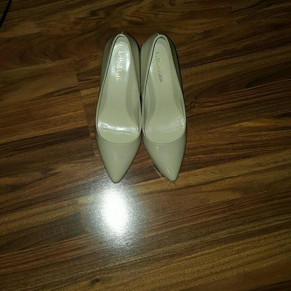 c47050158 Kelly & Katie Shoes | Kelly Katie Tessa Pumps Nude | Poshmark