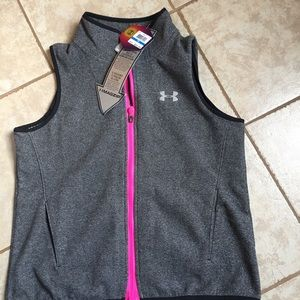 NWT UNDER ARMOUR infrared cold gear magzip vest 🌸