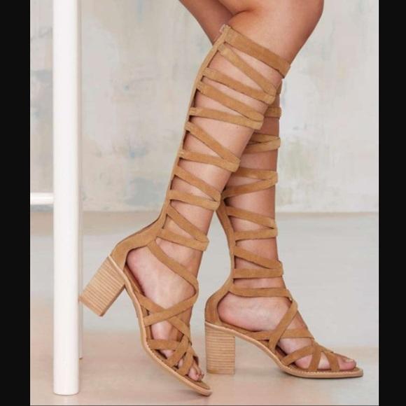 c73b0e906191 Jeffrey Campbell  Enyo  Gladiator Sandal (Suede)
