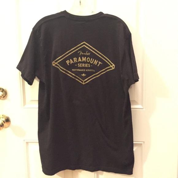 8890d35fe6a4 Hot Topic Shirts   Mens Black T Shirt Large Fender Guitars Acoustic ...