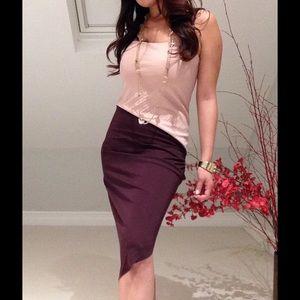 Halston Heritage Dresses & Skirts - ✨Halston Heritage Dusty Pink Asymmetrical Dress✨