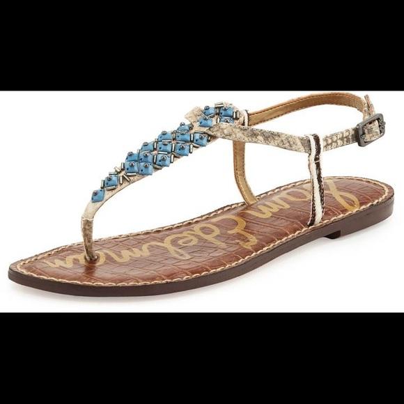 bea41ee3730b Sam Edelman Shoes - Sam Edelman Gaines Beaded Thong Sandal
