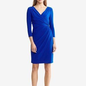 NWOT Ralph Lauren Jersey Long Sleeve Dress 8