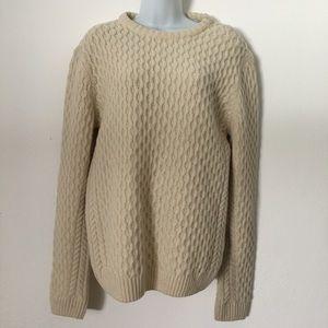 APC Sweaters - A.P.C. Beige knit Sweater size M