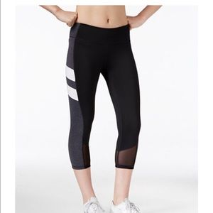 Ideology Pants - Ideology workout pants with mesh detail