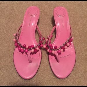 Casual Corner Pink Sandals