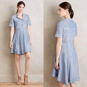 Anthropologie Dresses & Skirts - Holding Horses Burnett Shirt Dress