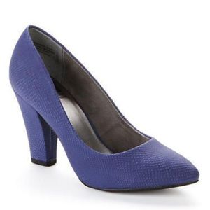 BC Footwear Shoes - BC Footwear Penthouse Exotic Pump in Blue