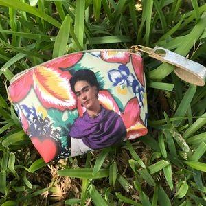 ❤️New 2pc Frida Kahlo Coin Purse / Change Purse