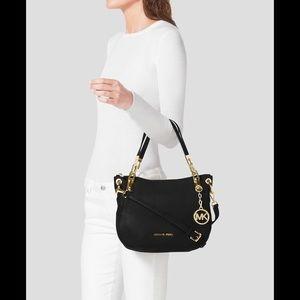 Michael Kors Handbags - MK MEDIUM GRAYSON BLACK