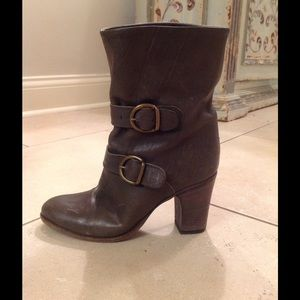 Fiorentini + Baker Shoes - FIORENTINI AND BAKER two buckle boots