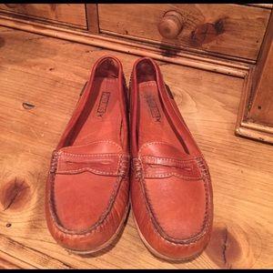 PIKOLINOS Shoes - Pikolinos burnt orange leather loafer