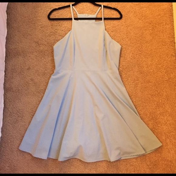 2bd6c6183b Lulu s Dresses   Skirts - Call To Charms Light Blue Skater Dress