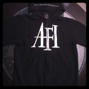 Medium AFI December Underground zip up hoodie