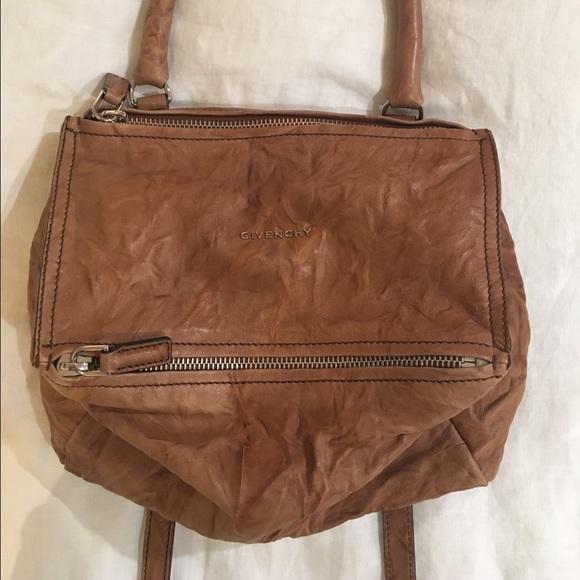 Caramel GIVENCHY Pandora Handbag. Size Small 71e408f370148