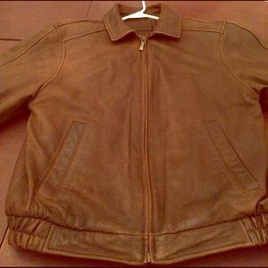 Leather Jacket by Croft and barrow