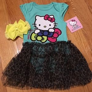 Hello Kitty Other - SALE Hello Kitty Tutu Dress for Baby Girl