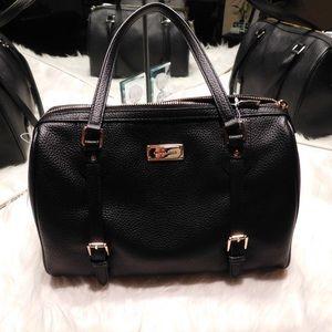 Michael Kors Handbags - Michael Kors Leather Bedford Satchel Large Purse
