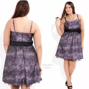 City Chic Dresses & Skirts - NEW! City Chic Fit & Flare Party Dress Plus Size