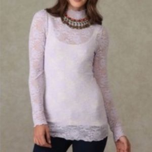 Free People Tops - Intimately Free People Purple Lace Top