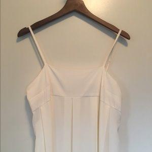 Who what wear white flowy dress size m