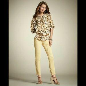 Chico's Tops - Chico's Tunic Leopard Animal Print  size 1 Medium