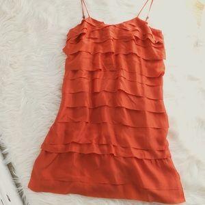 Stella McCartney silk tiered runway dress