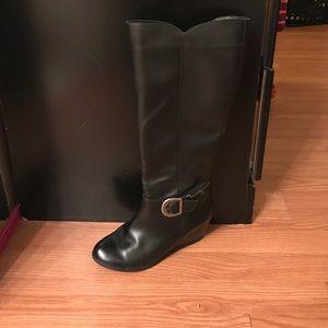 ANDREA FENZI Shoes - Black knee length boots
