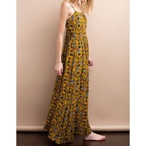 Wind and Willow Dresses & Skirts - Floral Maxi Dress