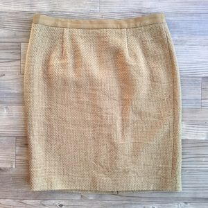 Boden Dresses & Skirts - BODEN Tweed Pencil Skirt Olive Green Size 10P