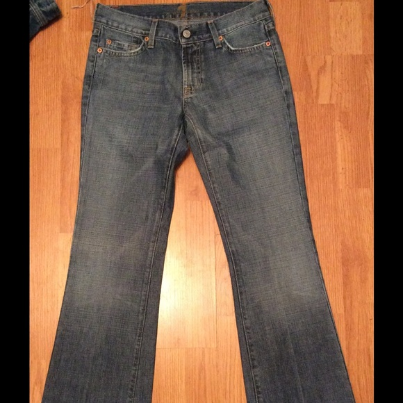 81 off 7 for all mankind denim sale nwot 7 for all mankind jeans size 27 from taniqua 39 s. Black Bedroom Furniture Sets. Home Design Ideas
