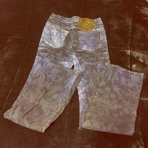 Just Cavalli Stretch Print Jeans